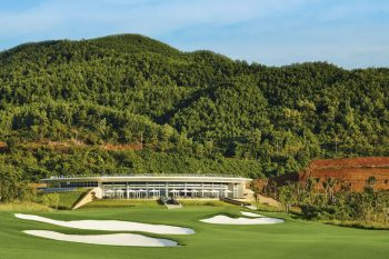 Ba Na Hills Golf Club-Hole 18-Green with Clubhouse