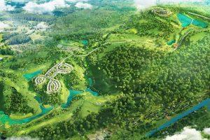 Yen Dung Resort & Golf Club-Layout